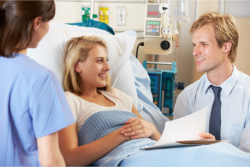 doctor discussing about the health of his patient